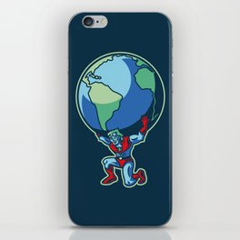 The Weight of the World iPhone Skin