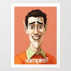 vampire? Art Print