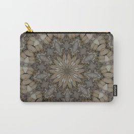 Natural Earth Tones Mandala Pattern Carry-All Pouch