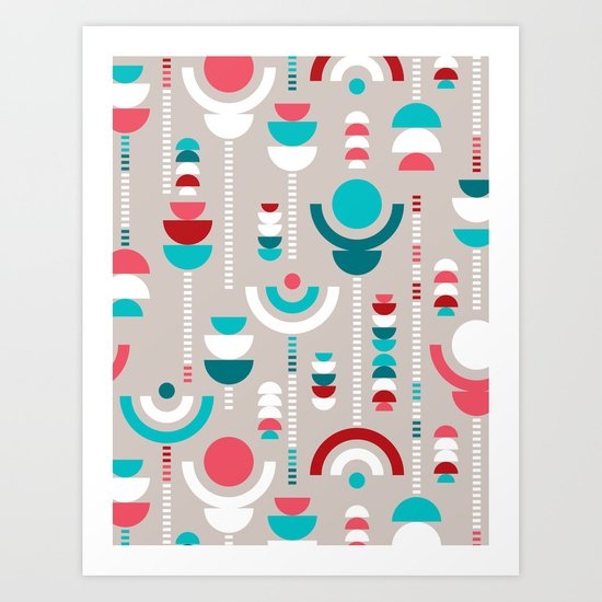 Tulip Tumble Art Print