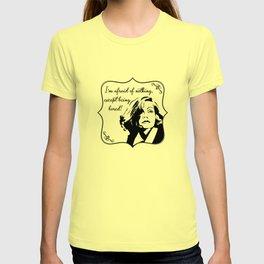 Don't bore Greta Garbo! T-shirt