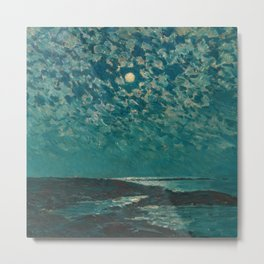 Classical Masterpiece 'Isle of Shoals' Rhode Island by Frederick Childe Hassam Metal Print