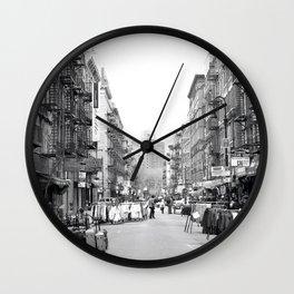 Lower East Side Wall Clock