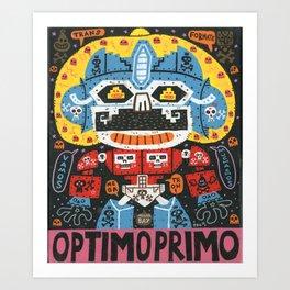 Robotito Art Print
