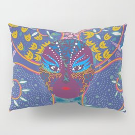 Kabuki Chick at night Pillow Sham