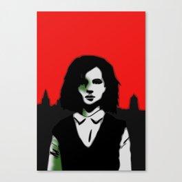 Oxford Girl Canvas Print