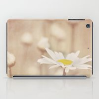 daisies iPad Cases featuring Daisies by KunstFabrik_StaticMovement Manu Jobst