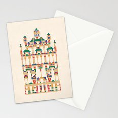 Block Façade Stationery Cards