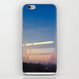 Abstract subway views iPhone Skin