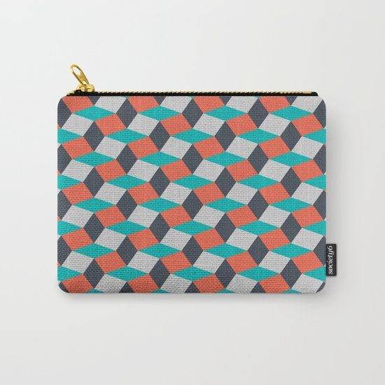 Four Colors Carry-All Pouch