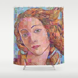 Variations On Botticelli's Venus – No. 1 Shower Curtain