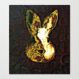Wild Wabbit Canvas Print