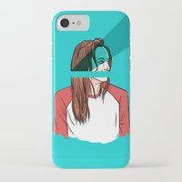 danny haas iPhone & iPod Cases featuring danny lawrence by Ana Rocha