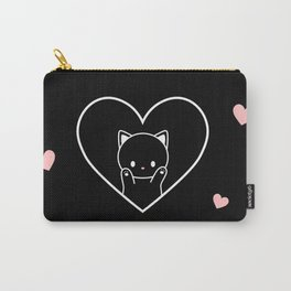 Cat in Heart Carry-All Pouch