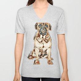 best dog ever Unisex V-Neck