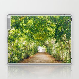 in green summer light Laptop & iPad Skin