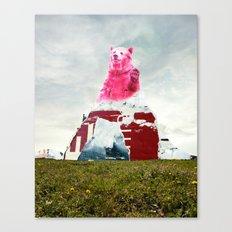 Bear Salute Canvas Print