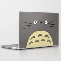 ghibli Laptop & iPad Skins featuring My neighbor troll - Studio Ghibli by Drivis
