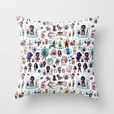 Cute Steven Universe Doodle Throw Pillow