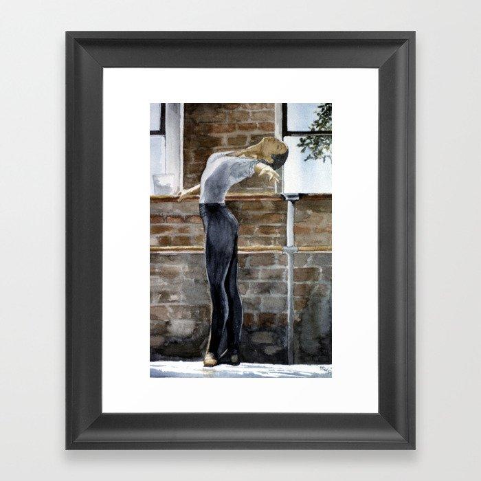 Ballett Dancer Framed Art Print