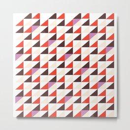 Triangle Mountain Metal Print