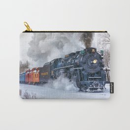 North Pole Express Train (Steam engine Pere Marquette 1225) Carry-All Pouch