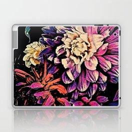 Autumn Dahlia Floral Bouquet Laptop & iPad Skin