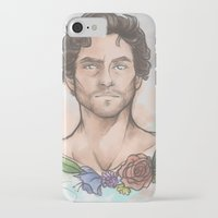 will graham iPhone & iPod Cases featuring Will Graham by skullfricked