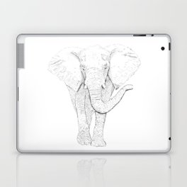 White Elephant Laptop & iPad Skin