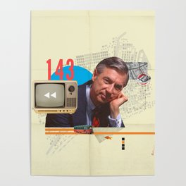 Mr. Rogers 143 Poster