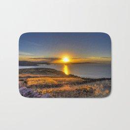 A Titicaca Sunset Bath Mat