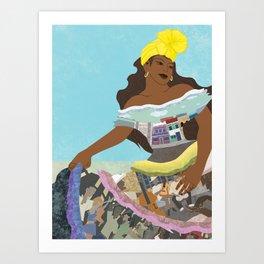 Viva la Cuba! Art Print