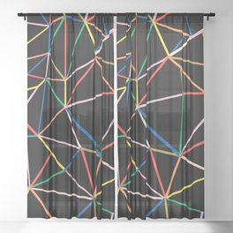 Ab Out Color B Sheer Curtain