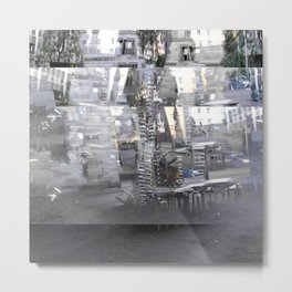 Proceeds delivered unobtrusively through hideouts. [A] Metal Print