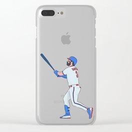 Bryce Harper Clear iPhone Case
