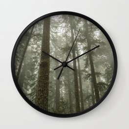 Memories of the Future - nature photography Wall Clock