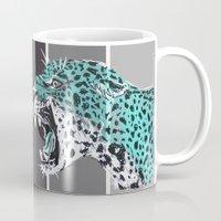 jaguar Mugs featuring jaguar by aceta