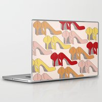 heels Laptop & iPad Skins featuring High Heels by Helen Voice Designs