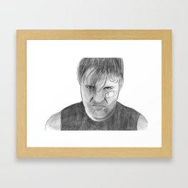 Dean Ambrose Framed Art Print