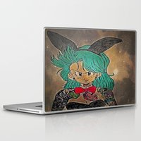 dragon ball Laptop & iPad Skins featuring First Lady Of Dragon Ball  by Artistic