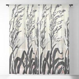 Beach Morning Sheer Curtain