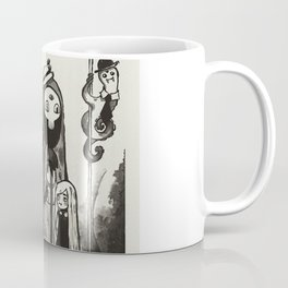 Strange meetings at the Bus STOP Coffee Mug
