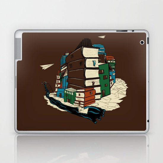 Book City Laptop & iPad Skin