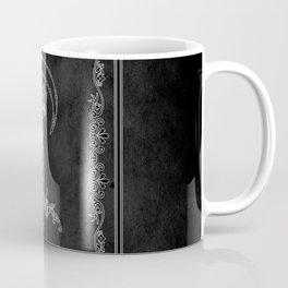 """Tarot - """"The War"""" - b&w v3 Coffee Mug"""