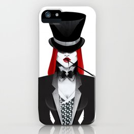Gotham Masquerade iPhone Case