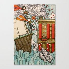 adventure! Canvas Print