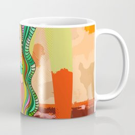 """Serpentes Goddess"" Coffee Mug"