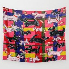 scotties Wall Tapestry
