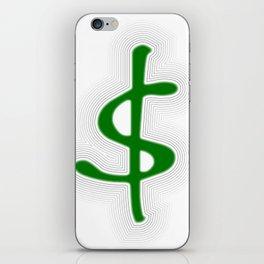 Shrinking Dollar iPhone Skin