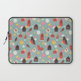 Bird Houses Laptop Sleeve